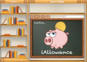 Using iAllowance for allowances and chores